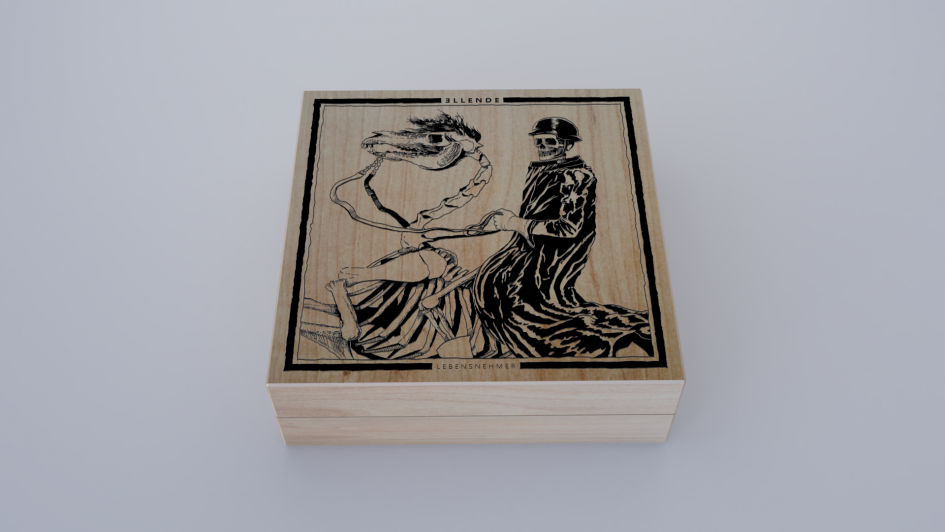 Ellende wooden box